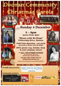 doonan-community-christmas-carols-2016-poster